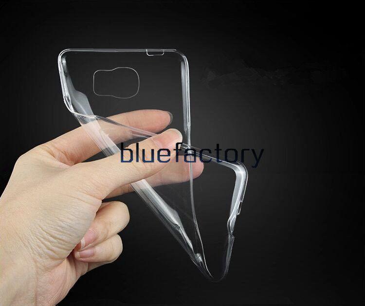 Para iphone x 8 transparente suave claro caso de TPU Ultra delgado de goma cristalino Flexibilidad contraportada de la piel para Samsung S8 S7 para Samsung Note 8