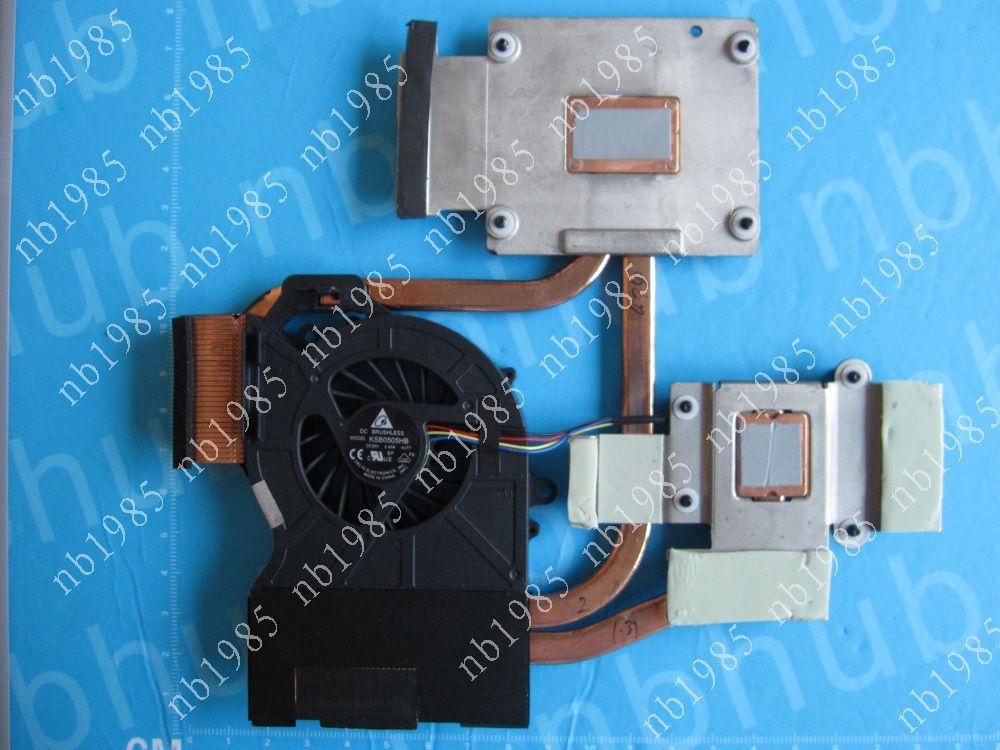 Nuovo Ventola del dissipatore di calore originale HP dv6 dv6-6000 dv7 dv7-6000 DV6-6050 DV7-6B DV7-6C 650797-001 INTEL Indipendente