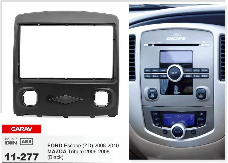 Carav 11 277 Top Quality Radio Fascia For Ford Escape Zd Mazda Rhdhgate: 06 Mazda Tribute Radio Replacement At Gmaili.net