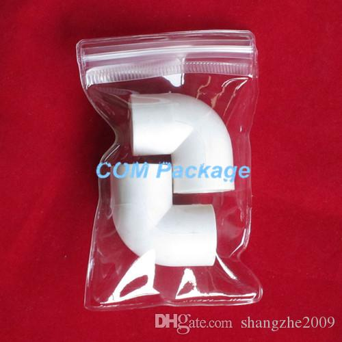 """4x6cm 1.6""""x2.4"""" Clear PVC Plastic Zipper Packed Bag Jewelry Anti-oxidation Antioxidative Bag Zipper Lock Packaging Polybag Pouch for Craft"""
