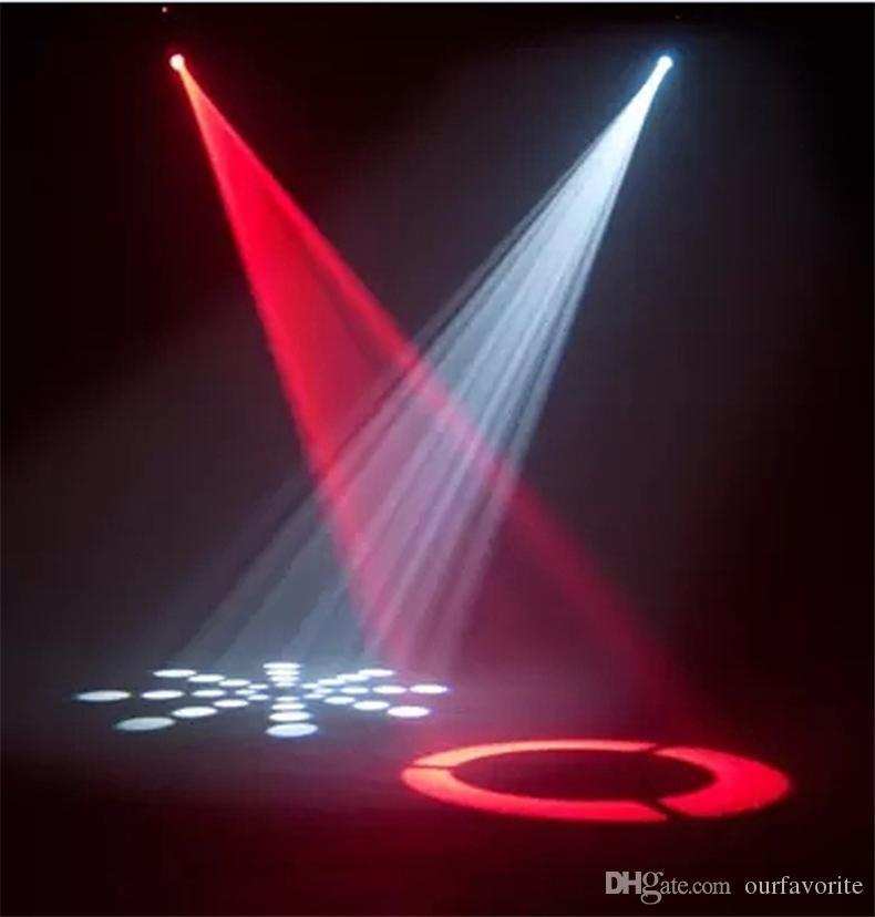 Livraison Gratuite / 30W LED Tête Mobile Tête Stade Lumière AC90 - 240V mini mobile Gobo Motif Lumière 9/11 canaux DMX512