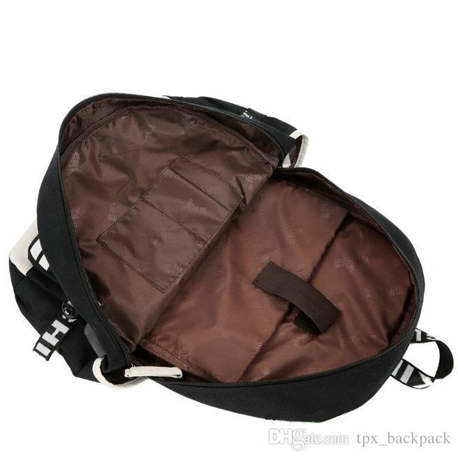 Bangarang backpack Owsla day day pack أعلى dj حقيبة مدرسية packsack الكمبيوتر حقيبة الظهر الرياضة المدرسية daypack day