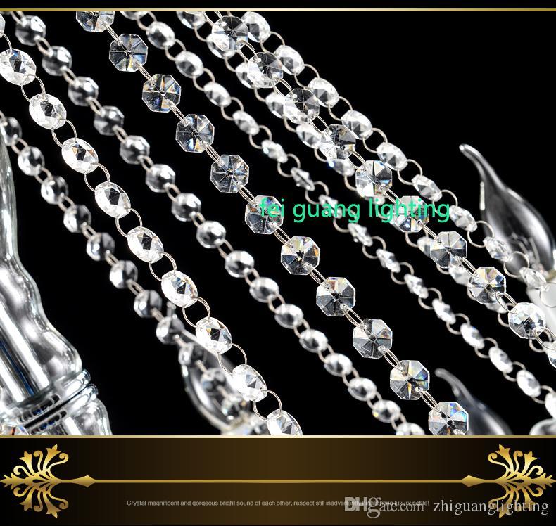 Modern Luxury LED Crystal Chandelier Ceiling Lustre de Crystal ball Pendant Hanging Lamp Home Kitchen Lighting Fixtures