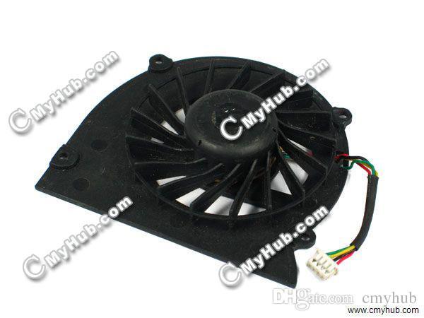 Бесплатная доставка ноутбук вентилятор охлаждения для Dell ноутбука XPS M1330 1318 PP25L M1310 DFS481305MC0T F6M3-КНО 0HR538 0MM911 вентилятор охлаждения