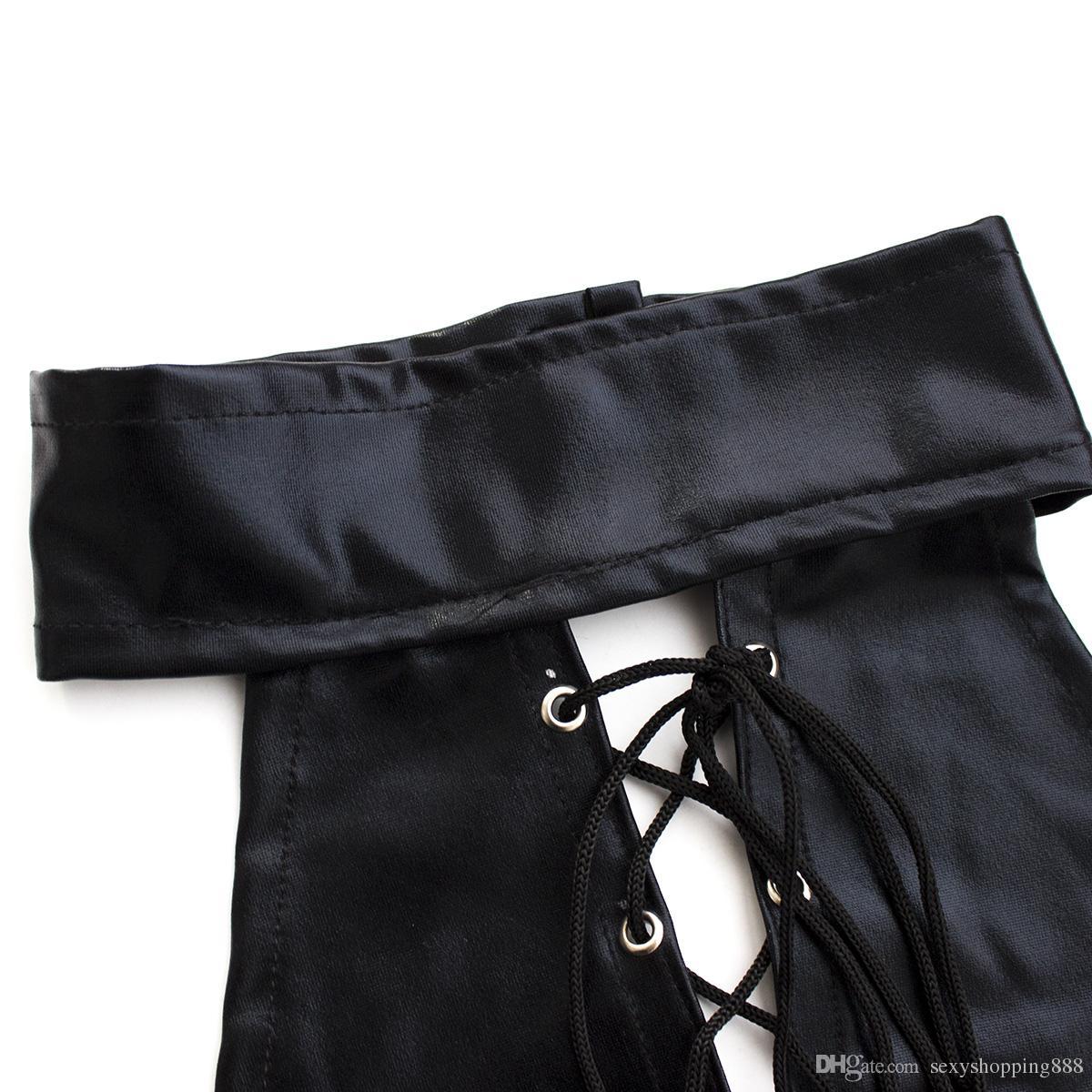 Peluches Lingerie Sexy Para As Mulheres de Couro De Patente Macacão de Látex Vestido Sexual Trajes de Jogo Sexo Senhora Roupa Interior Produtos Do Sexo Desgaste Do Sexo Adulto
