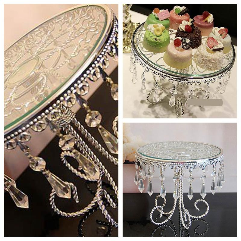 Top sale beautiful cake stands plate for wedding birthday home top sale beautiful cake stands plate for wedding birthday home hotel party table decoration crystal metal wedding dessert suppliers buy wedding decor junglespirit Images