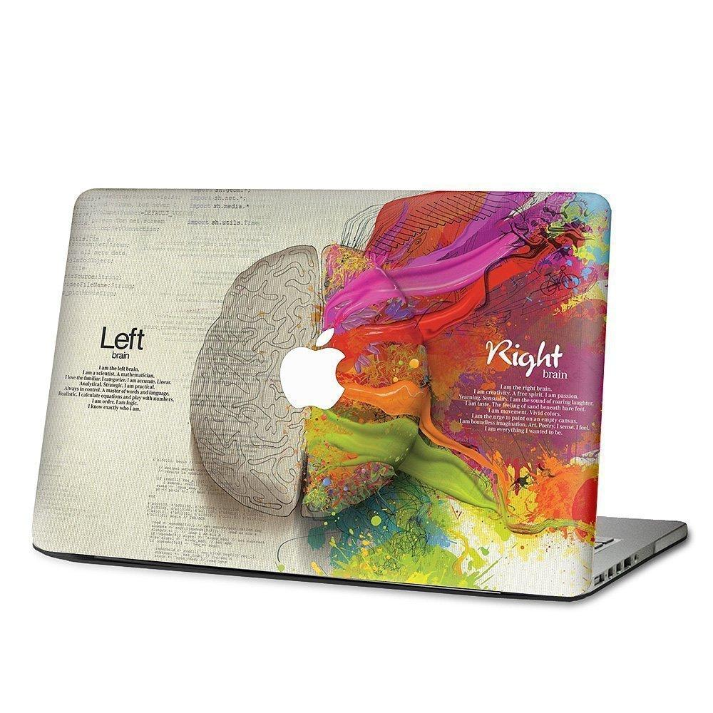 Linke und rechte Gehirnhälfte für Apple Macbook Aufkleber Aufkleber Pro Air Pro Retina Vinyl Aufkleber 13
