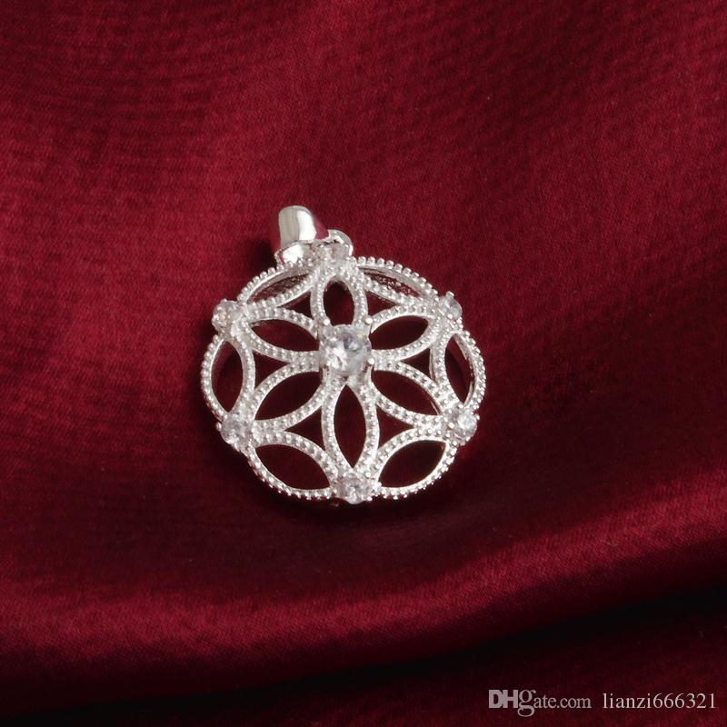 Свободный серебр 925 высокого качества перевозкы груза серебряный двойной с блестящими с подарками праздника дня венчания вахты диаманта ювелирных изделий 925 горячих 1659