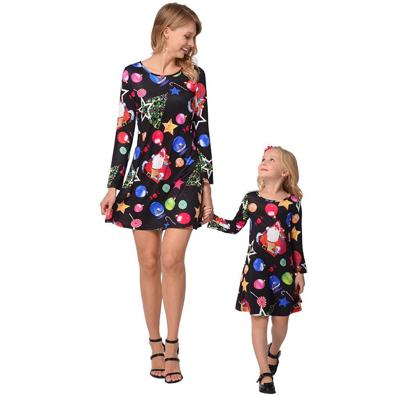 Mother and daughter cloth-8961