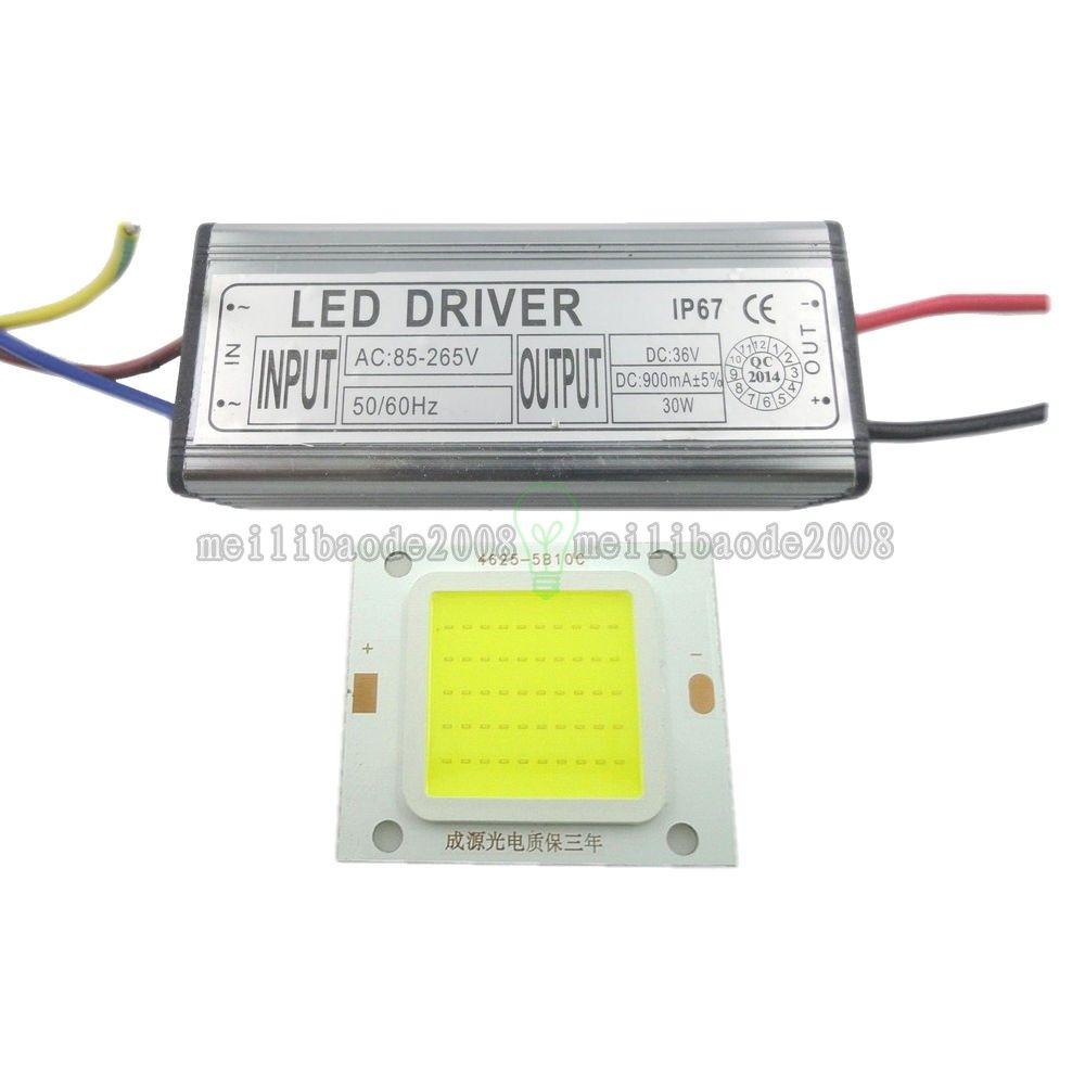 LED SMD Chip Bulb 10W 20W 30W 50W 100W LED Driver Alimentazione ad alta potenza impermeabile LLWA001