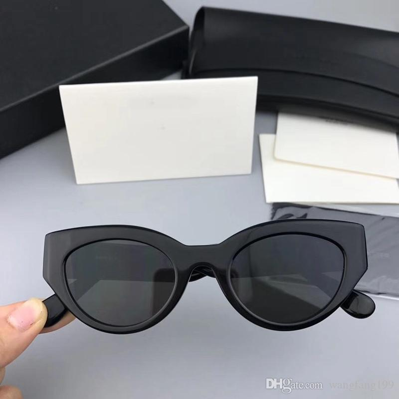 ea9267a438 TAZI Cute Sexy Retro Cat Eye Sunglasses Women Small Black White 2018 ...