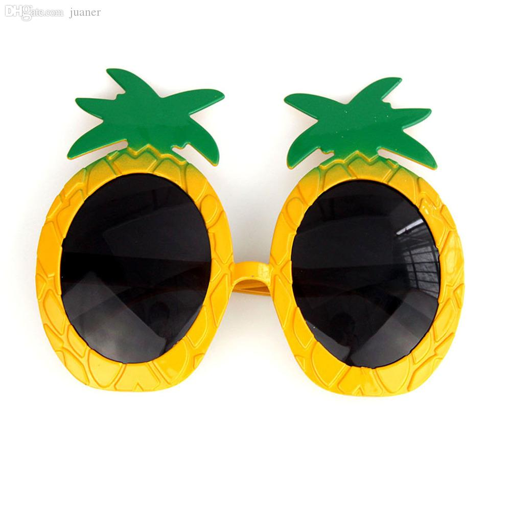 Wholesale New Fashion Pineapple Sunglasses Hawaiian Luau Beach Summer Party Hot Police