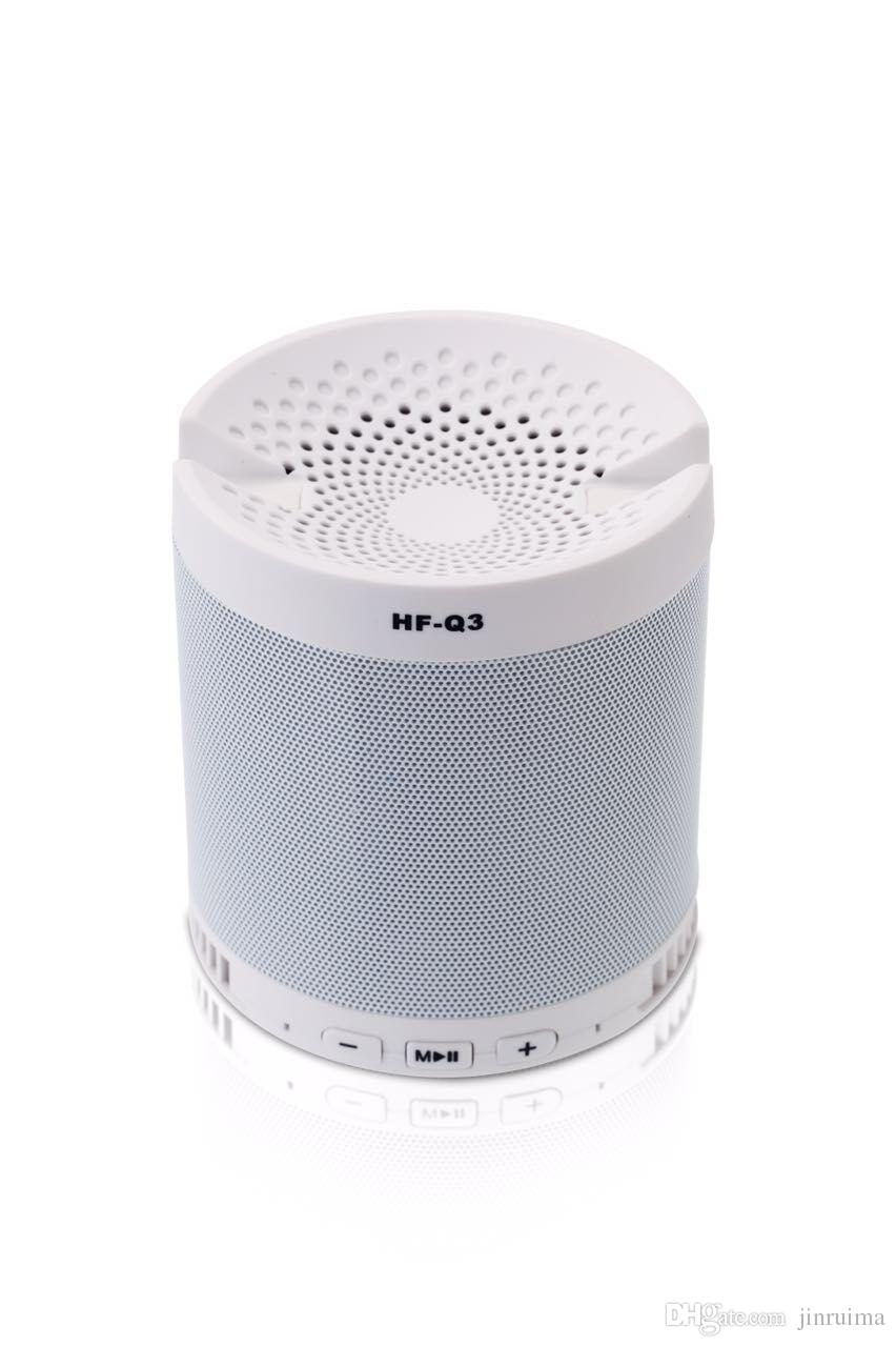--Creative Outdoor Bluetooth Speaker HF-Q3 Wireless Portable Mini Speakerphone Stand Subwoofer Card Speaker