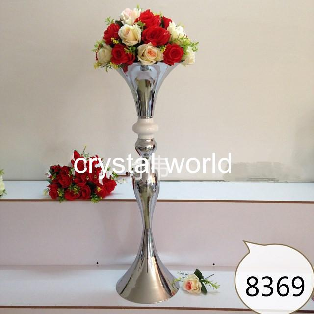 Высокий щепка психического цветок стоит свадьба 691 стол центральные для свадьбы украшения 3
