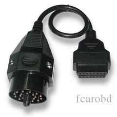 Fcarobd adattatore da 20 Pin a 16 pin diagnostico BMW, BMW 20Pin a 16 Pin cavo OBD2, BMW 20pin OBDII adattatore Spedizione Gratuita