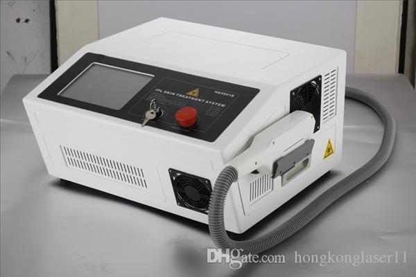 Nuovo CE della macchina di depilazione del laser di IPL approvato, laser portatile di depilazione della macchina / ipl di ipl della macchina del salone di bellezza