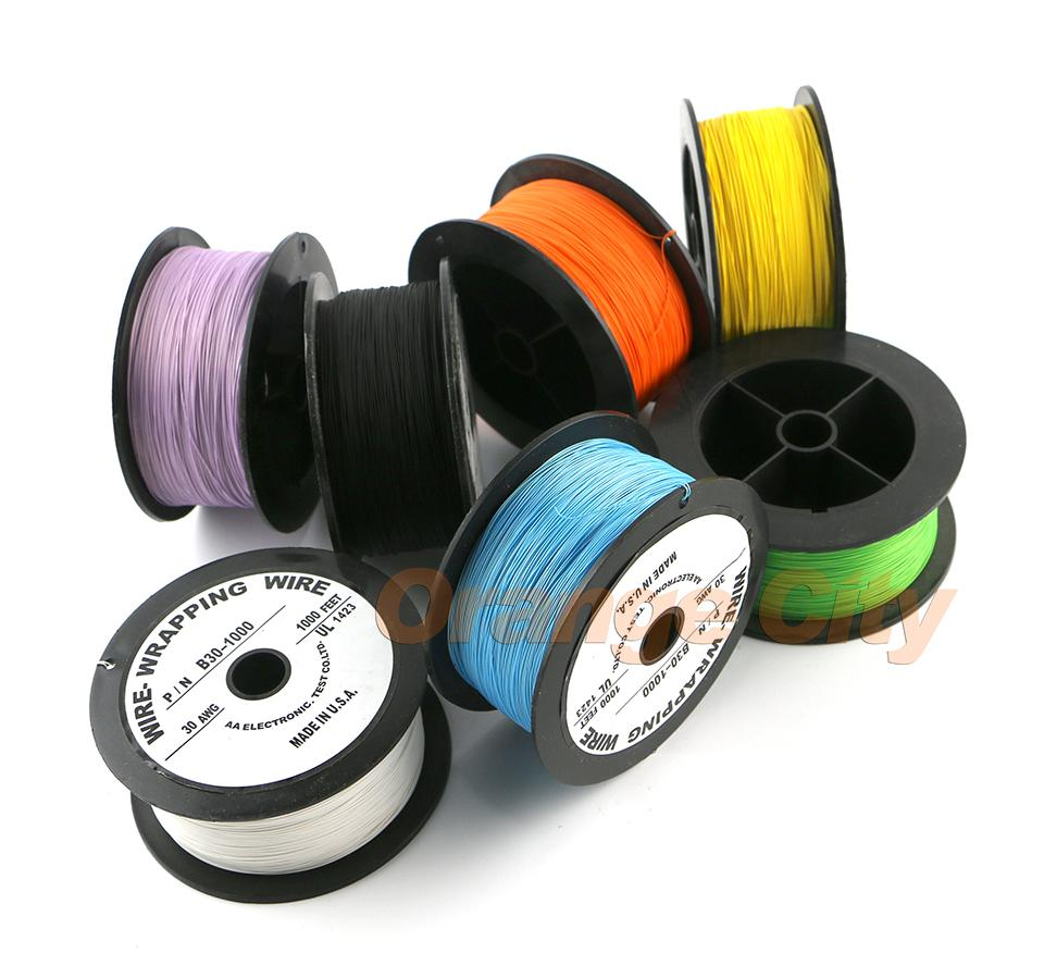 Wire Wrapping Wrap Multicolor AWG30 Cable ok line/electrical wire line FOR Laptop motherboard PCB connect welding