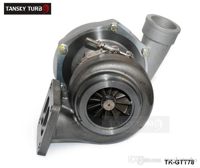 TANSKY T78 T4 Twin Scroll Turbo Charger V Band For Racing Car Horsepower:  500 1000HP With Gaskets TK GTT78 Turbocharger Supercharger Turbocharger