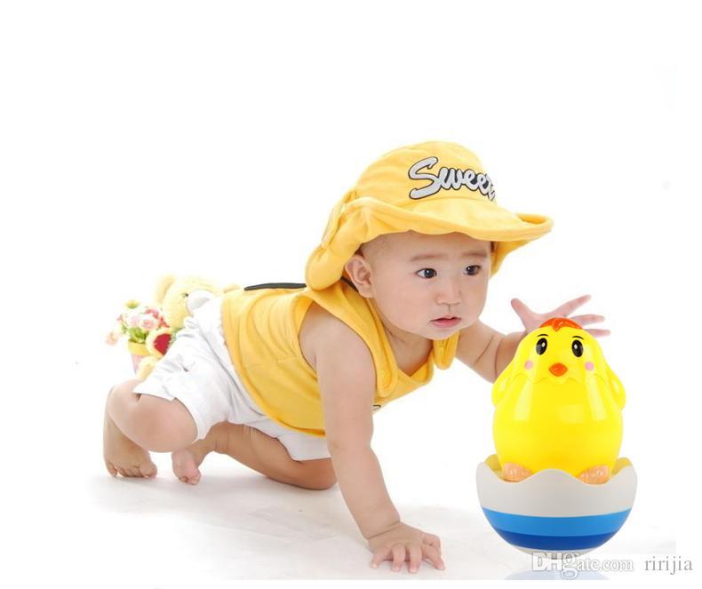 Beiens Marka Oyuncaklar Bebek Oyuncakları Brinquedos para Bebe Matlyoshka Bardak Bebek Boneca Bebek Çıngıraklar Hediyeler Müzik Ile Sevimli Civcivler