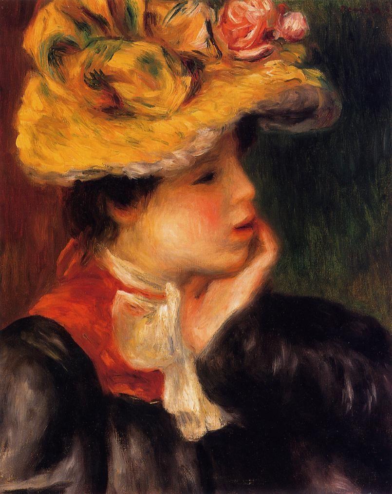 Großhandel Gemälde Von Pierre Auguste Renoir, Leiter Einer Jungen ...