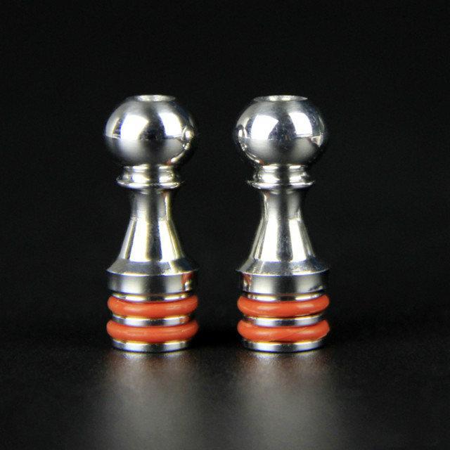 Five Pawns 510 Drip Tips Bocchino in acciaio inox misura 5 Pedine RDA Atomizzatore RBA Kayfun Lite Plus Edition Kayfun 4 Accessori DHL