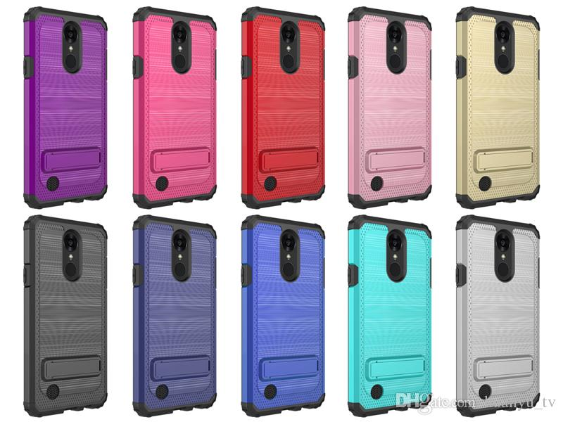 For Iphone X/Iphone 6/6 plus/7/8plus Hybrid Defender Newset Styles hot sales Kickstand Hard Dot Case