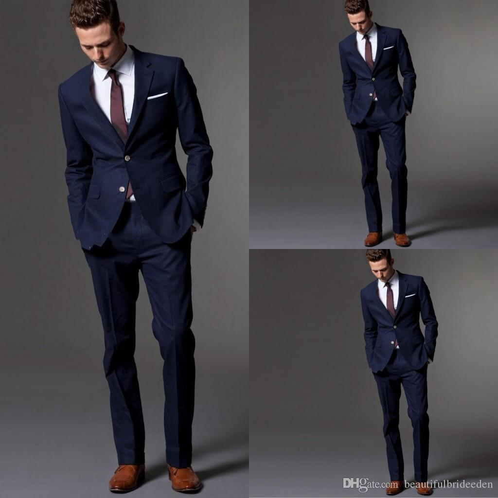 Free Shiping Western Style Men Business Suits Brand Boss ...