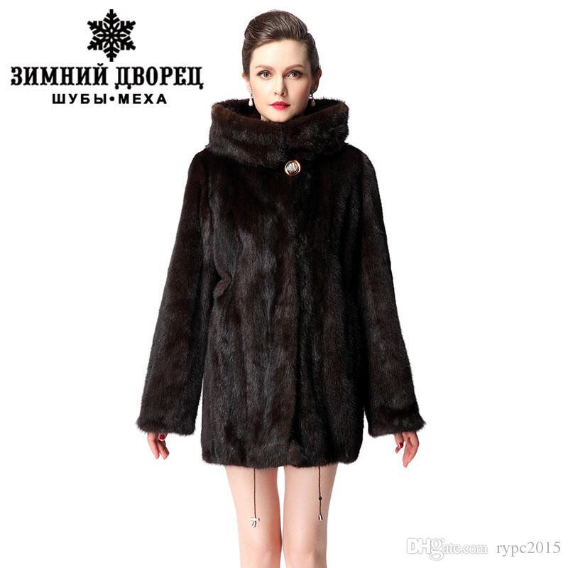 2017 Feminine New Models Fashion Short Mink Coat,Mink Fur Coat ...