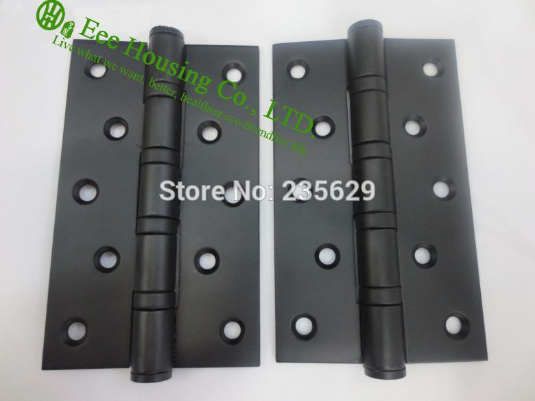 Superbe 2018 5 Inches Ball Bearing Black Door Hinges, Stainless Steel Hinges For  Doors, 5 Inches Black Door Hinge,Low Noise Hinges From Sojo, $94.88    Dhgate.Com