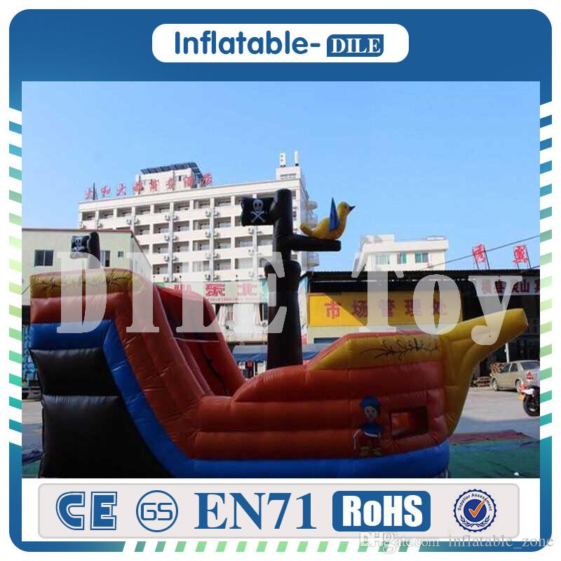 Inflatable pirate Ship Bouncy Castle, inflatable Bouncer house, Pirate Boat Inflatable Bouncer for sale