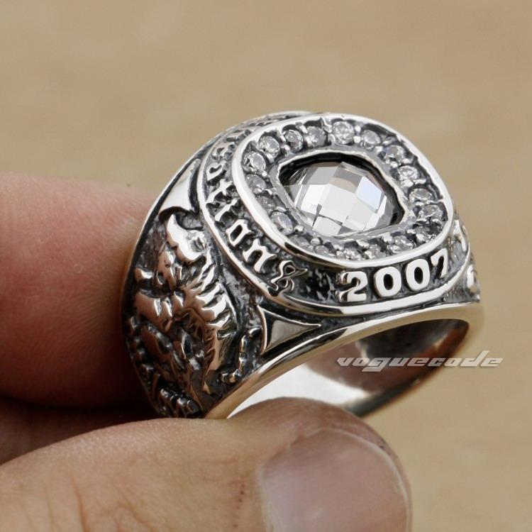Black Cz Ring Guard Sterling Silver