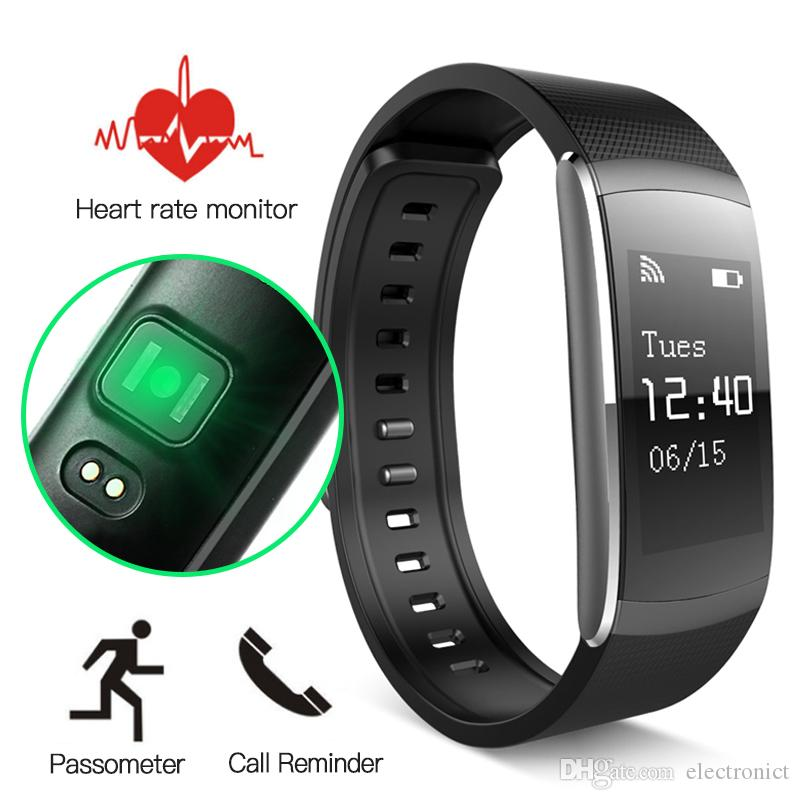 i6 Pro Smart Wristband Bracelet Heart Rate Sport Tracker Bluetooth 4.0 Banda Inteligente Smart Band For Android IOS PK xiaomi band 2