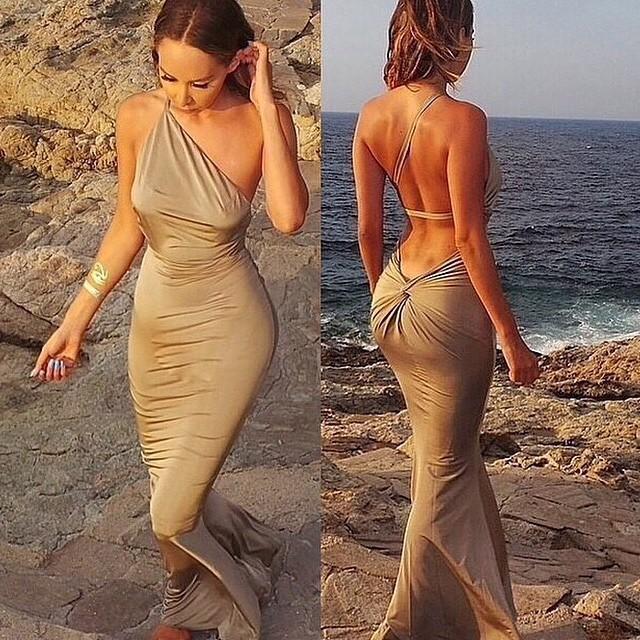 Vestidos fiesta playa 2015