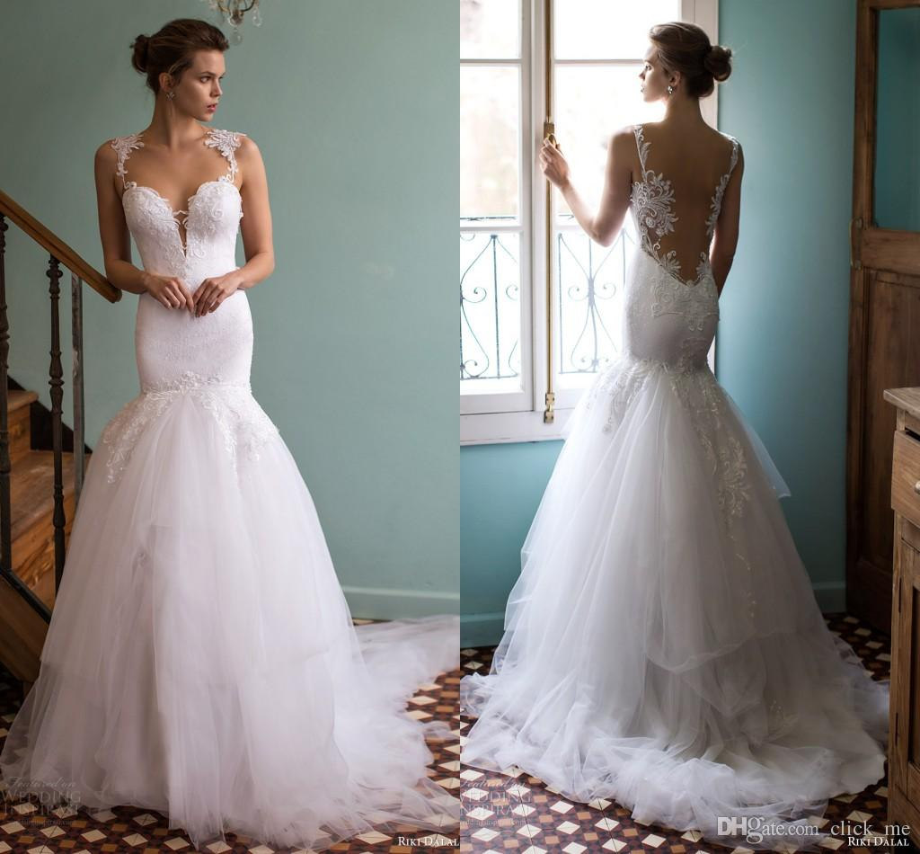 Contemporary Cheap Fishtail Wedding Dresses Sketch - All Wedding ...