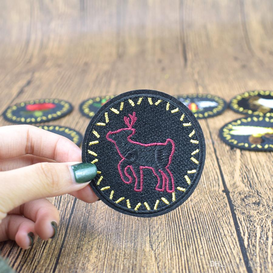 Bees Badge Patches for Clothing Bags Iron on Transfer Applique Insect Patch for Jacket Jeans DIY Sew on Embroidery Sticker