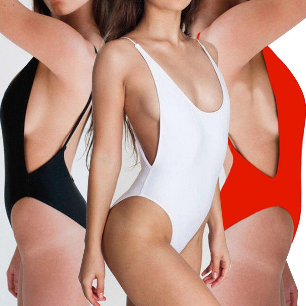 Sexy Teenage Girls One Piece Beachwear Bikini Swimsuit Swimwear