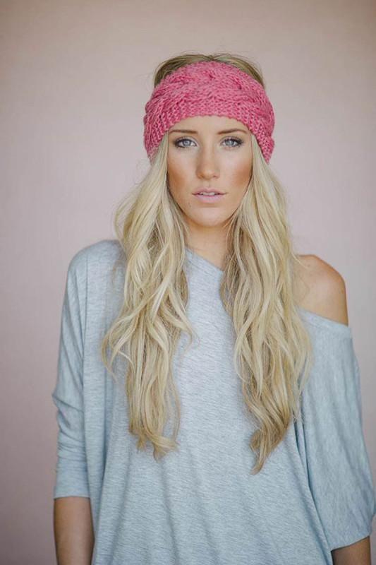 Online Cheap Newest Women\'S Fashion Wool Crochet Headband Knit Hair ...