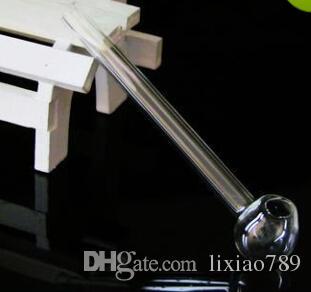 Bong accessoires produits en verre pan droit 9CM, accessoires de narguilé en gros, livraison gratuite, grand mieux