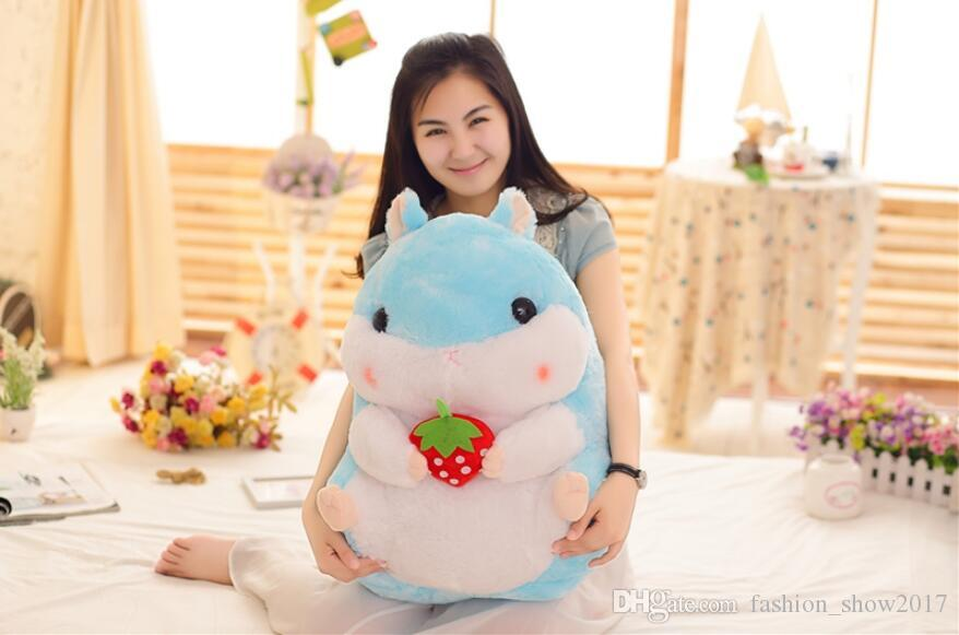 New Lovely Interesting Series Cute Cartoon Hamster Plush Toy Mouse Dolls Bedroom Decoration Girl Birthday Gift