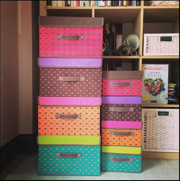 2018 2015 Hot Selling Foldable Fabric Storage Boxes Organizer Saving Space  Keep Underwear Socks Towels Clean Three Colour For Option From  Sunshine_2015, ...