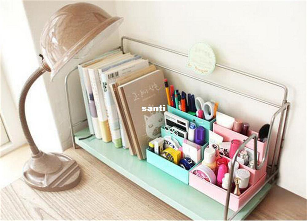 New Arrive Diy Paper Board Storage Box Desk Decor Stationery Makeup Cosmetic Organizer With 2 34 Piece On