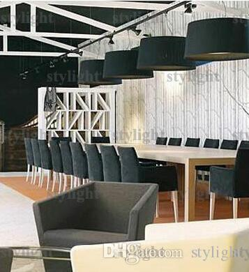 modern pendant lamp minimalist design Suspension lights fabric material hanging light elegant light lounge sitting room hotel meeting room