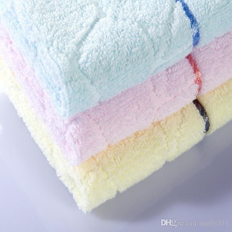 square towel water cube hand towels facecloth cotton 33*33cm hand towel dry quickly beauty universal pink blue geometric
