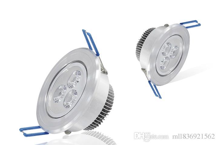 Led 천장 조명 3 x 3w Dimmable LED 최근 스포트 라이트 110v 220v 주도 전구 램프 downlight 조명 스포트 라이트 아래로 천장