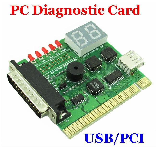 Computer Post: New Computer Accessories Usb Pc Pci Diagnostic Card Usb