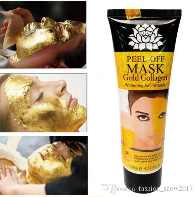 قناع التقشير الذهبي قناع الوجه العناية بالوجه ترطيب أقنعة الوجه العناية بالبشرة قناع لشد الوجه