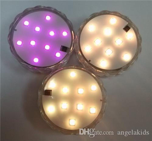 Le spot LED télécommande électronique étanche bougies la lumière de l'eau lumière de la lanterne de poisson extérieur décoratif intérieur atmosphère chaleur chaleur en 2015