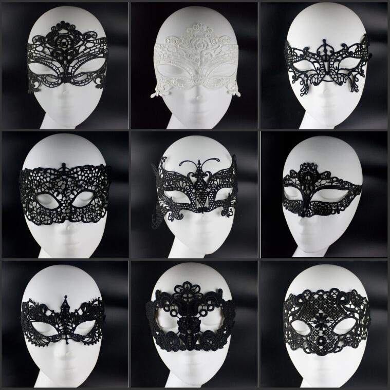 Black and White Ball Masks