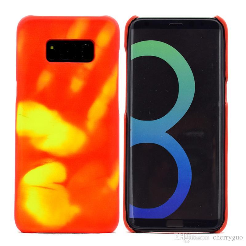 Coque Sensible À La Chaleur Pour Samsung Galaxy S8, Décoloration Par Induction Thermique Proposé Par Cherryguo, 5,94 € | Fr.Dhgate.Com