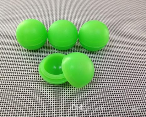 / 5.6 ml Forme de boule anti-adhésive bocaux de silicone dab conteneur de cire Multi couleur 100 pièces / livraison gratuite